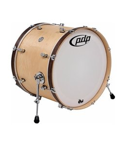 PDP PDP Concept Maple Classic 14x24 Bass Drum Natural - Walnut finish
