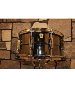 Ludwig Ludwig 6.5x14 in Hammered Black Beauty w/Imperial Lugs