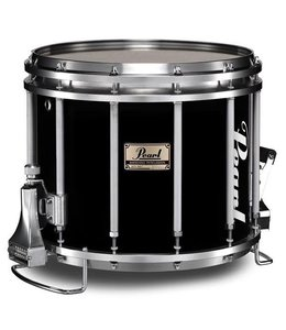"Pearl Pearl 14""x12"" Championship Maple FFX Marching Snare Drum w/ Re-Ring Midnight Black"