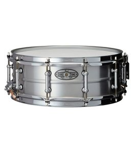 Pearl Pearl 14x5 in Sensitone Beaded Aluminum w/ Clear Lacquer Finish Snare Drum