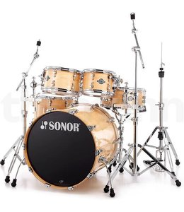 Sonor Sonor Select Force Stage 3 5pc Natural Maple Shell Pack - No B/D Tom Mount