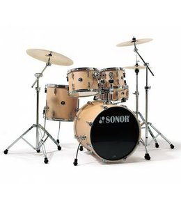 Sonor Sonor Select Force Stage 3 5pc Natural Maple Shell Pack with Mount