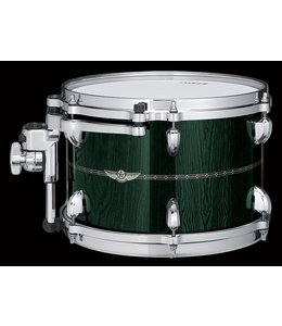 Tama Tama Star Bubinga Tom 14x10 w/ Inlay Outside Dark Green Cordia