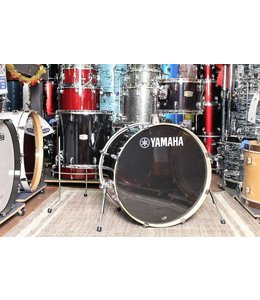 Yamaha Yamaha Stage Custom Birch 3pc Shell Pack Raven Black YAMSCB3PCRB
