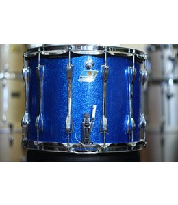 Ludwig Vintage Ludwig Marching Snare Drum-Blue Sparkle