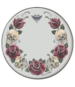 Remo Remo 22'' Corey Miller Rock And Roses Bass Drumhead