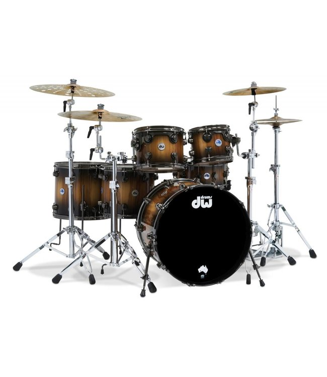 DW DW Collector's Series Limited Edition Pure Tasmanian Timber Sassafras 6-Piece Shell Pack