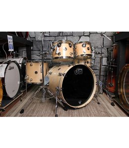 DW DW Performance Series 5pc Natural Lacquer Rock Shell Pack