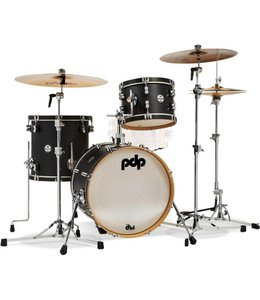 PDP PDP Concept Maple Classic 3pc Bop Black/Black Shell Pack