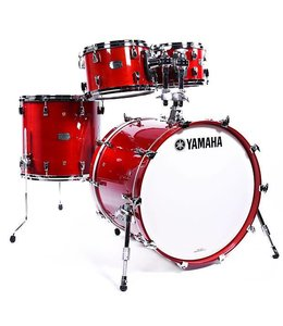 Yamaha Yamaha Absolute Hybrid Maple 4-piece Red Autumn Finish Shell Pack