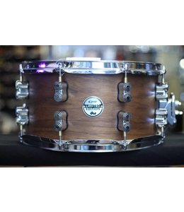 PDP PDP 7x13 Limited Edition 20-Ply Maple/Walnut Shell with Natural Satin Finish Snare Drum