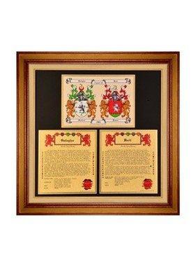 HRC: Anniv Collection [Double CoA + 2 Family Histories, Framed (6-8 wks)]