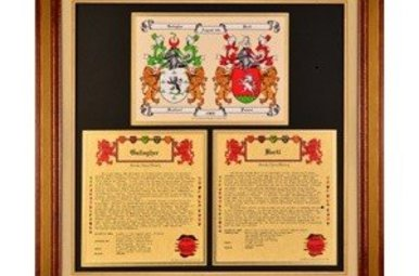 HRC: Anniv Collection [Double CoA + 2 Family Histories, Framed (6-8 wks)]