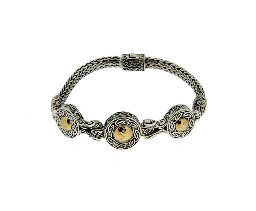 Bracelet: Sterling & 18k Solstice