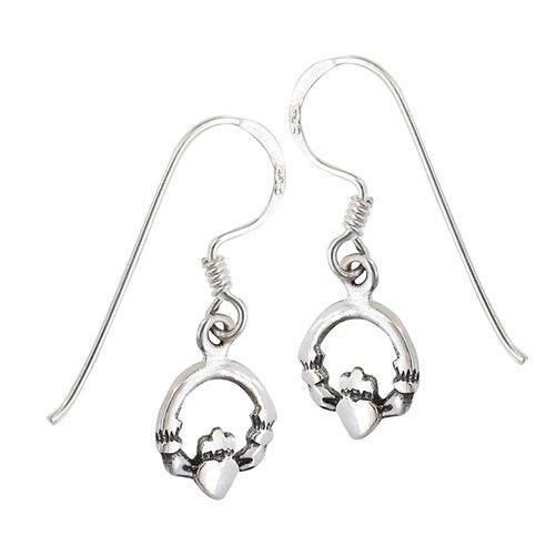 Earring: SS Clad Dangle WE4960