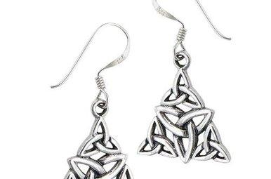 Earring: SS Trinity Triangle