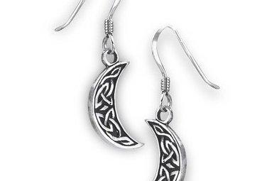 Earrings: SS Moon Knot WE9483