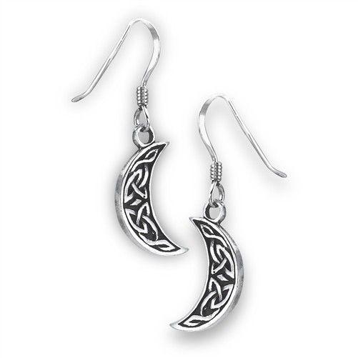 Welman Earrings: SS Moon Knot WE9483