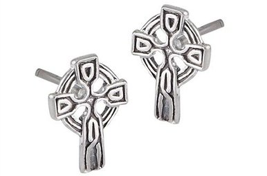 Earrings: SS Tiny Celt Crs