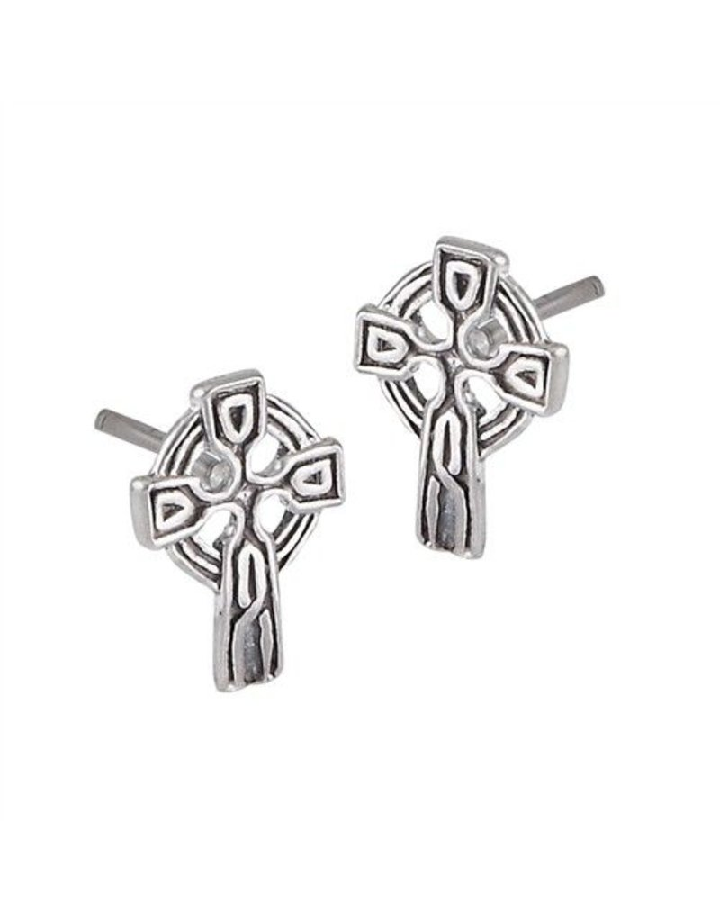 Earrings: SS Tiny Celt Crs WE1383