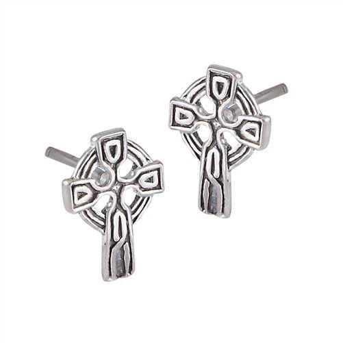 Earrings: SS Tiny Celt Crs WE1383