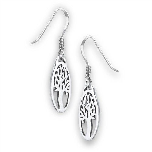 Earrings: SS Tree Life Ov WE9533