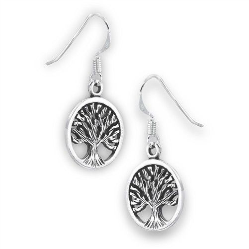 Welman Earrings: SS Tree Life