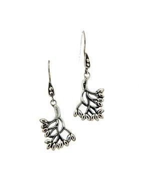 Earrings: Sterling Tree of Life, Sm