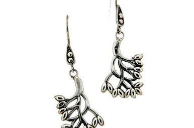Earrings: Sterling Tree of Life, Sm
