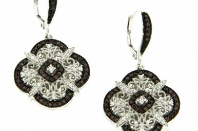 Earring: Sterling CZ Night & Day
