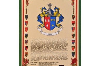 HRC: Family History w/CoA, Unframed 11x17