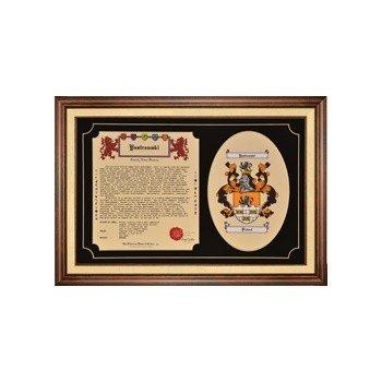 HRC: Family Tribute (2 pc CoA + History, framed)