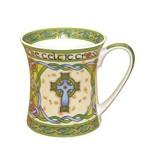 Mug: Irish Weave Celtic Cross