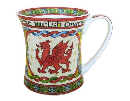 Mug: Welsh Weave Dragon