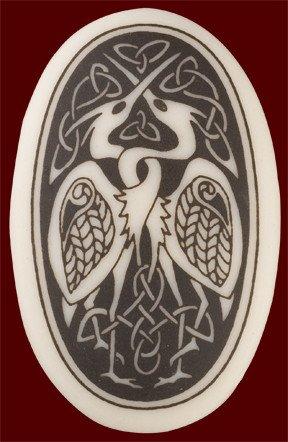 Necklace: Ceramic Bird