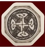 Necklace: Ceramic Cross