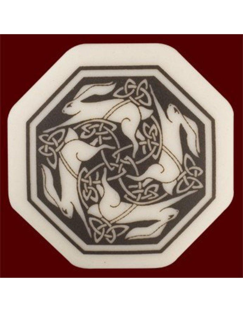 Necklace: Ceramic Hare