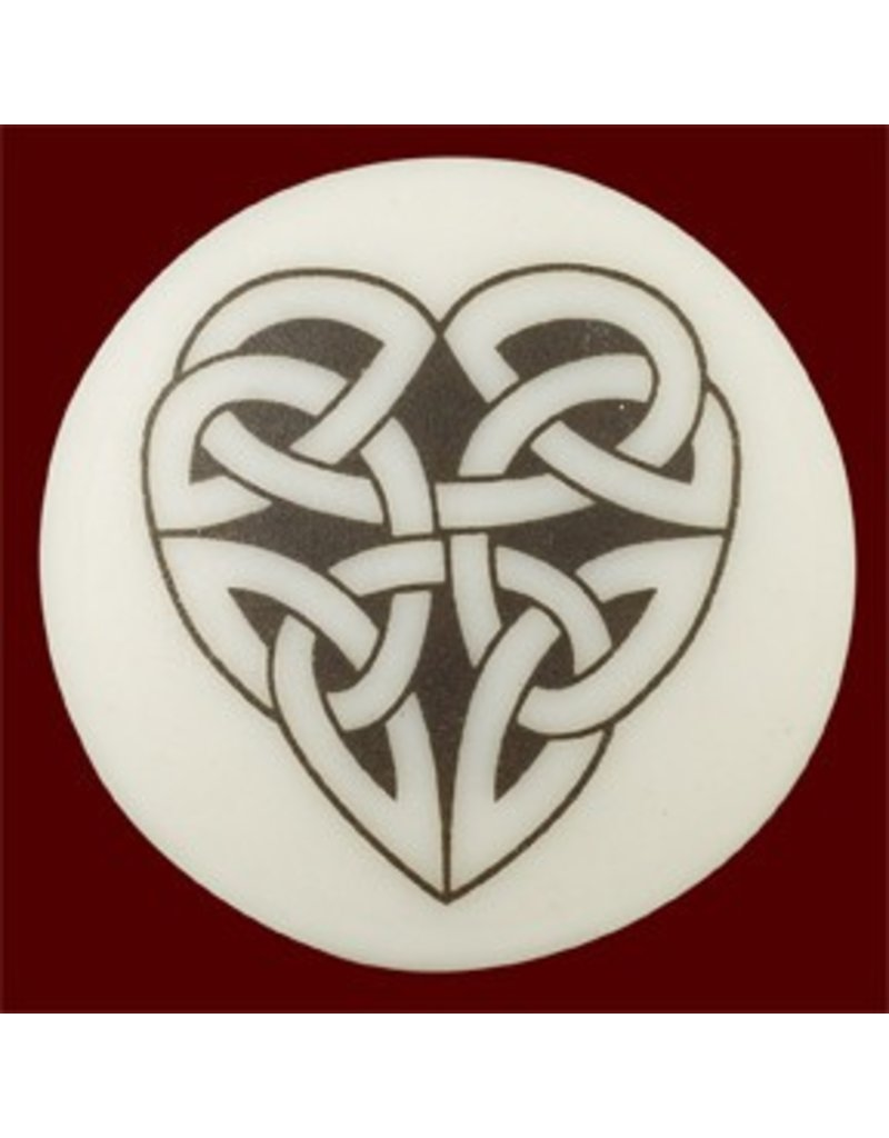 Necklace: Ceramic Heart