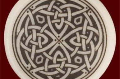 Necklace: Ceramic Knotwork