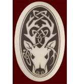 Necklace: Ceramic Stag