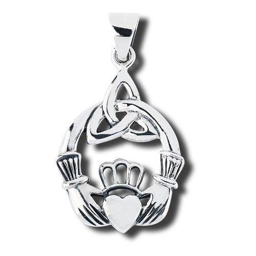 Necklace: SS Cladd Trinity