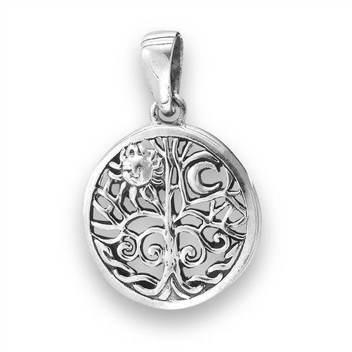 Necklace: SS Tree of Life (sm)
