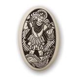 Necklace: Ceramic St. Michael