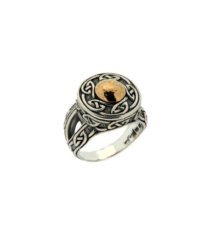 Ring: Sterling & 18k Solstice