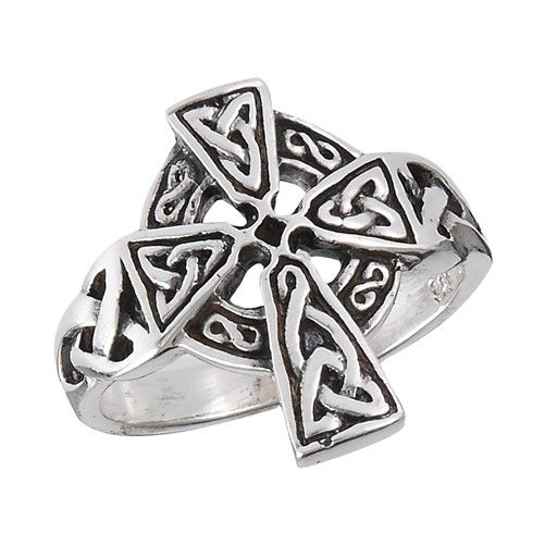 Ring: Celtic Cross, Trinity, SS