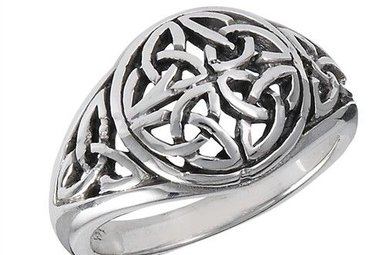 Ring: Trinities, Four Encircled, Domed, Trinity, SS