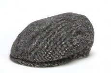 Hat: Vintage Wool Cap, Grey