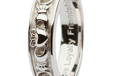 Ring: SS Cladd/Celt Ladies