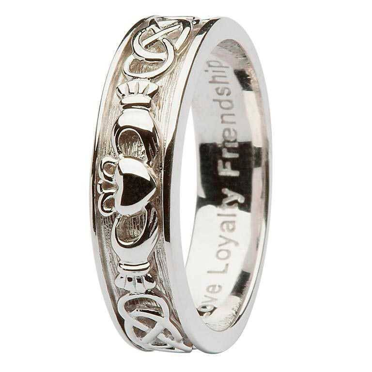 Ring: SS Cladd/Celt Ladies