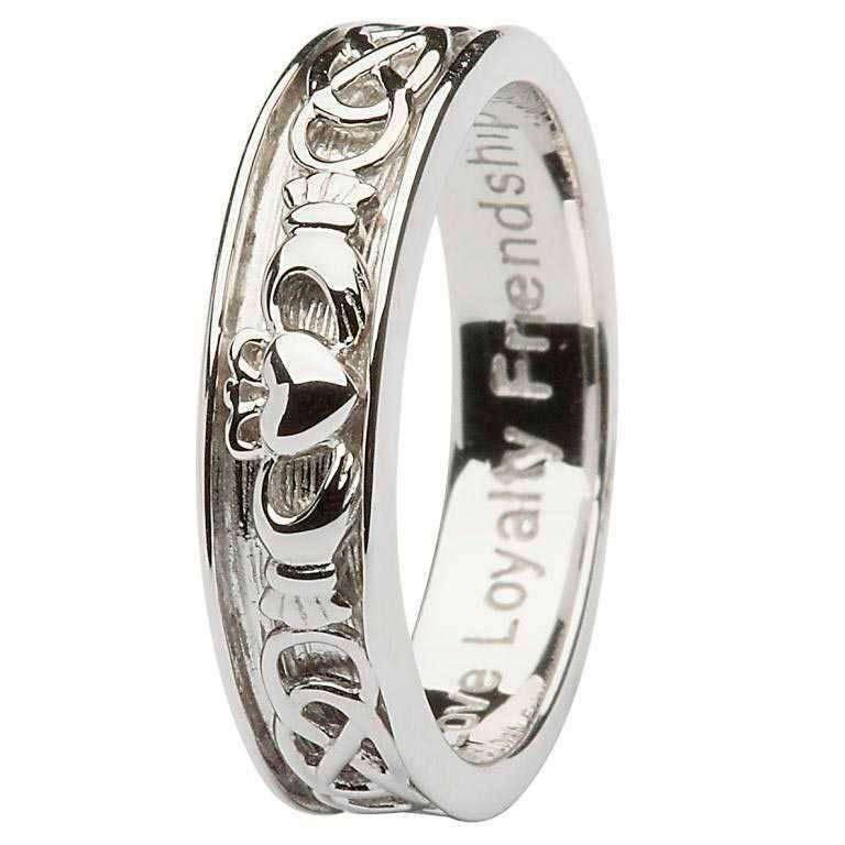 Shanore Ring: SS Cladd/Celt Men